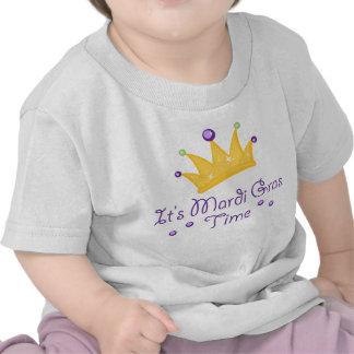It's Mardi Gras Time Tee Shirt
