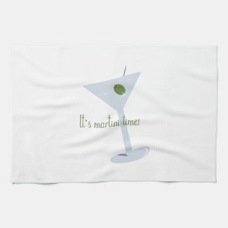 It's Martini Time! Towels