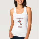 It's Martini Time T Shirt  Womens  Tank Top at Zazzle