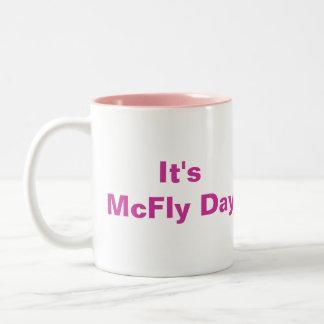 It's McFly Day Mug Pink