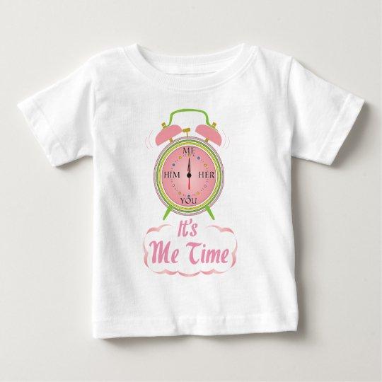 It's Me Time! Clock t-shirt. Baby T-Shirt