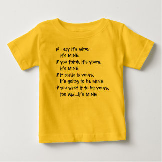 It's mine... toddler T-shirt
