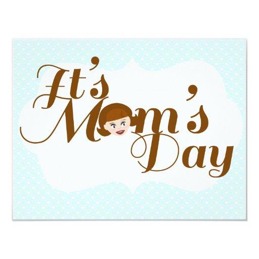 It's Mom's Day! 4.25x5.5 Paper Invitation Card