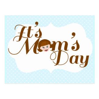 It's Mom's Day! Postcard