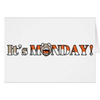 It's Monday! Card
