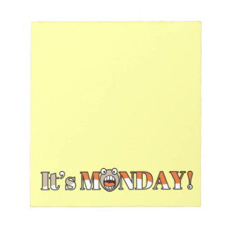 It's Monday! Notepads