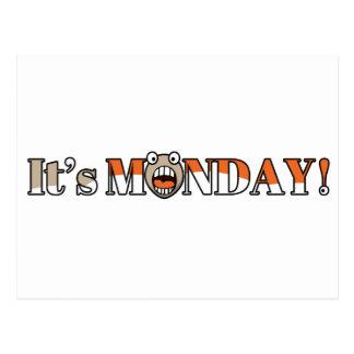 It's Monday! Postcard