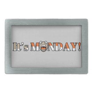 It's Monday! Rectangular Belt Buckles