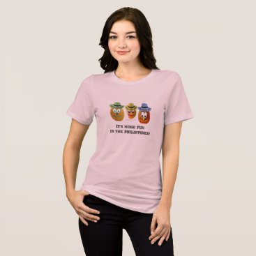 Beach Themed It's more FUN in the Philippines - Cool Hats T-Shirt