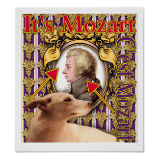 It's Mozart Poster