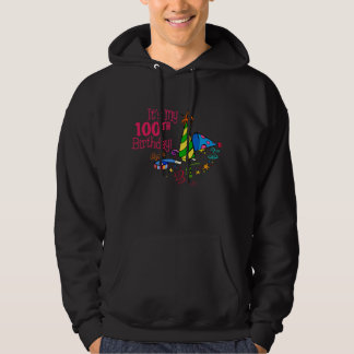 It's My 100th Birthday (Party Hats) Hoodie
