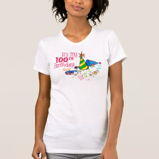 It's My 100th Birthday (Party Hats) T Shirt