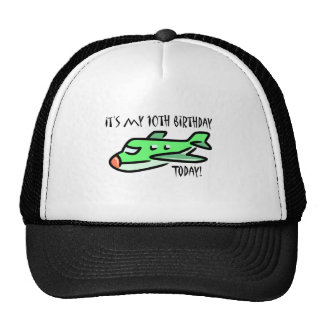 It's My 10th Birthday Today Mesh Hat