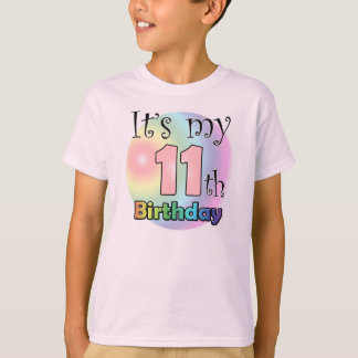 It's my 11th Birthday (girl) T-Shirt