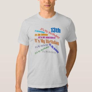It's My 13th Birthday Gifts Shirt