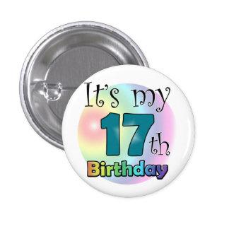 It's my 17th Birthday Button