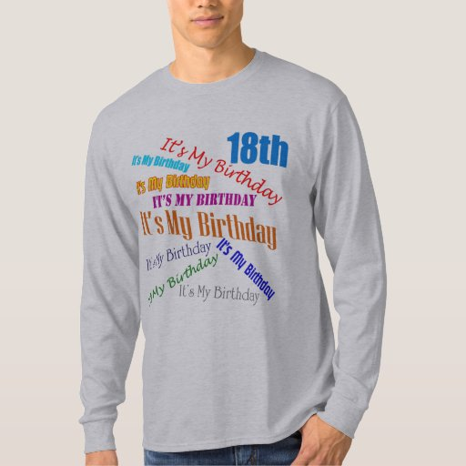 It's My 18th Birthday Gifts T-Shirt