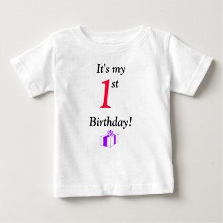 It's My 1st Birthday! Baby T-Shirt