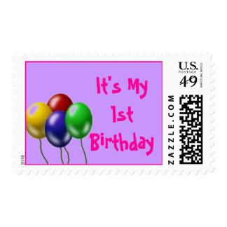 It's My 1st Birthday Postage