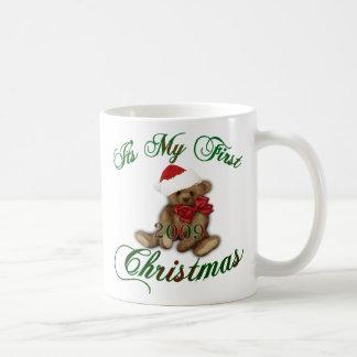 Its My 1st Christmas Classic White Coffee Mug