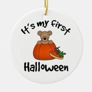 It's My 1st Halloween Ceramic Ornament