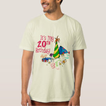 It's My 20th Birthday (Party Hats) T-Shirt