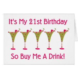 It's My 21st Birthday Cards