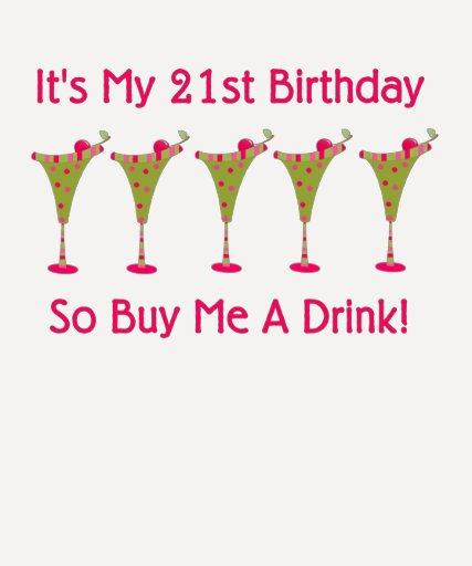 It's My 21st Birthday Shirt