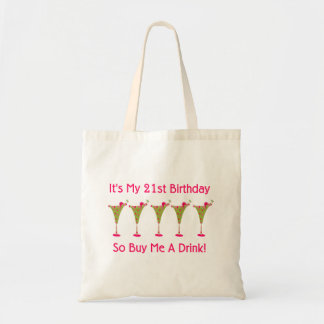 It's My 21st Birthday Tote Bag