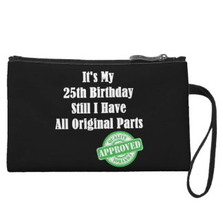 It's My 25th Birthday Wristlet Wallet