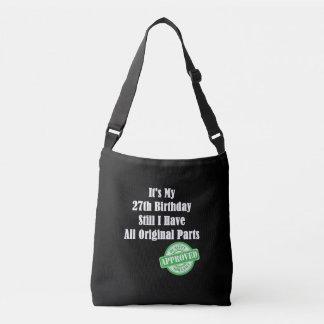 It's My 27th Birthday Crossbody Bag
