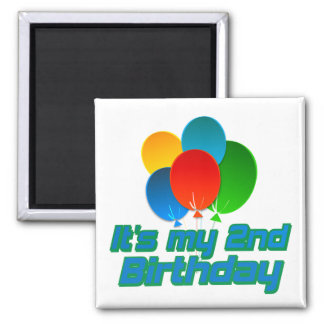 Its my 2nd Birthday Magnet