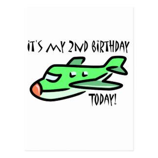 It's My 2nd Birthday Today Postcard