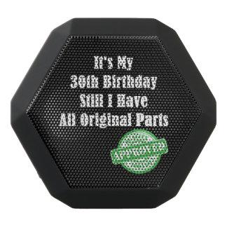 It's My 30th Birthday Black Bluetooth Speaker