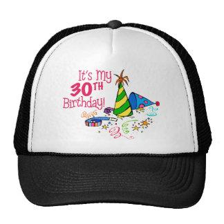 It's My 30th Birthday (Party Hats) Trucker Hat