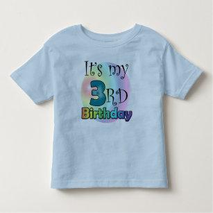 Its My 3rd Birthday Boy Toddler T Shirt