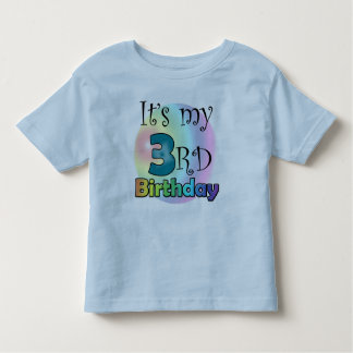 It's my 3rd Birthday (boy) Toddler T-shirt