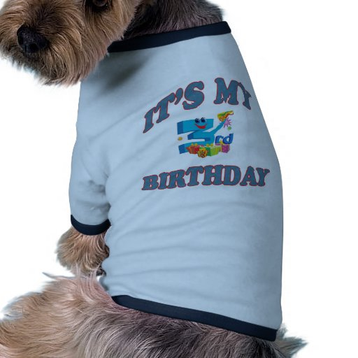 It's My 3rd. Birthday Dog Tee Shirt