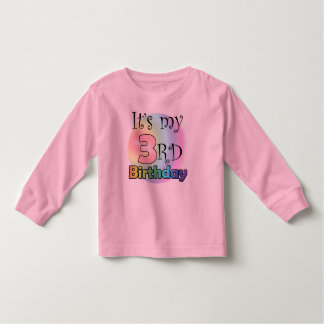 It's my 3rd Birthday Toddler T-shirt