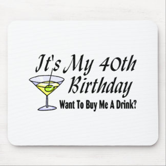 It's My 40th Birthday Mouse Pad