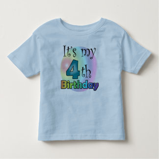 It's my 4th Birthday Toddler T-shirt