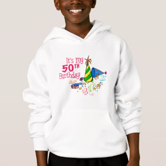 It's My 50th Birthday (Party Hats) Hoodie