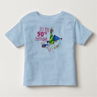 It's My 50th Birthday (Party Hats) Shirts