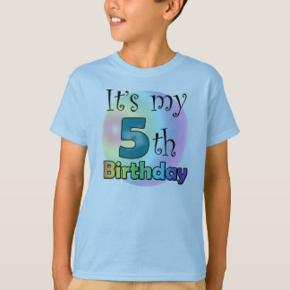 It's my 5th Birthday T-Shirt