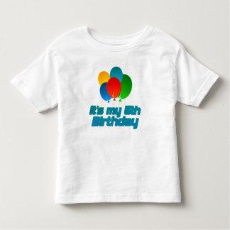 Its my 5th Birthday Toddler T-shirt