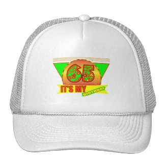 It's My 65th Birthday Gifts Mesh Hats