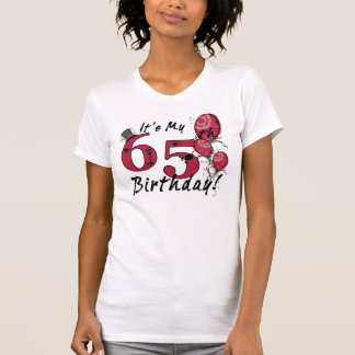 It's my 65th birthday grunge celebration tee