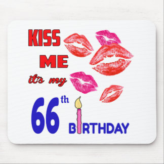 It's my 66th Birthday Mouse Pad