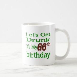 It's My 66th Birthday Classic White Coffee Mug