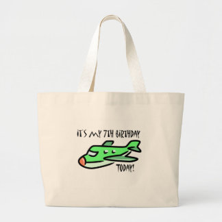 It's My 7th Birthday Today Canvas Bag